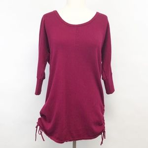 NWOT torrid | sweater w/ side ruching ties sz 0x